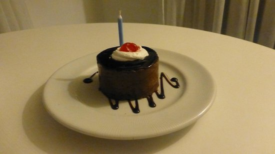 Best Western Premier Maceio: Sobremesa que ganhei no dia do meu aniversário.