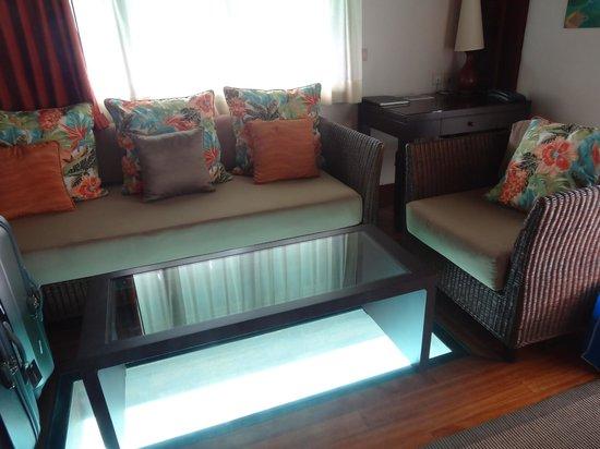 Hilton Moorea Lagoon Resort & Spa : Lounge