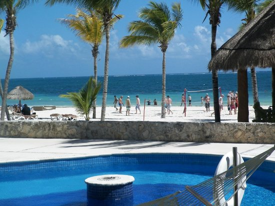 Excellence Riviera Cancun : Oceanfront Swim Up Excellence Club Room View