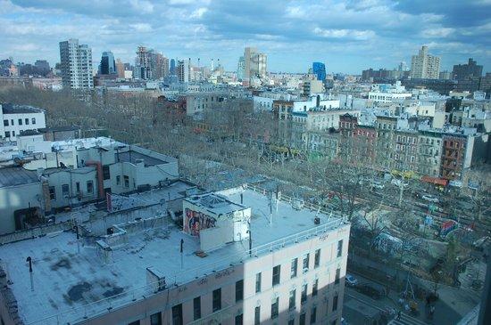 Wyndham Garden Chinatown: Panorama dalla camera