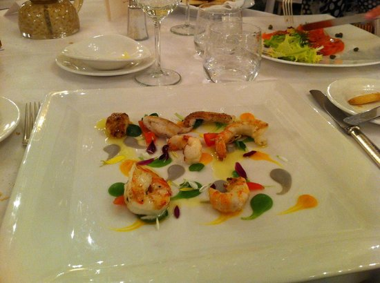 Grand Hotel des Iles Borromées & SPA : Antipasto