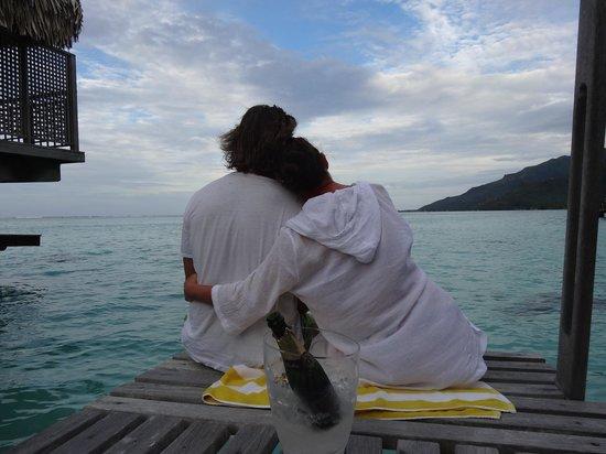 Hilton Moorea Lagoon Resort & Spa: Very romantic