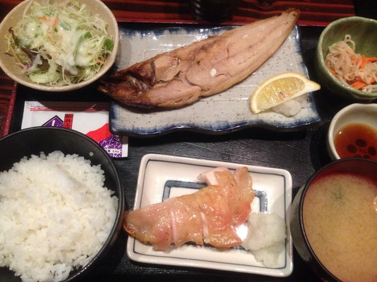 Fukunohana Nihonbashi branch: 色々一度に食べられお得気分♪