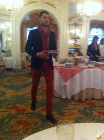 Grand Hotel Des Iles Borromees : Sala colazione