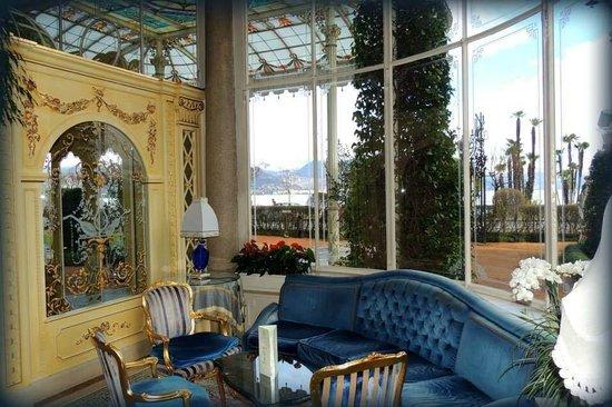 Grand Hotel Des Iles Borromees : Sala Hotel