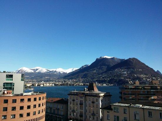Ibis budget Lugano Paradiso: Vista camera 7 piano