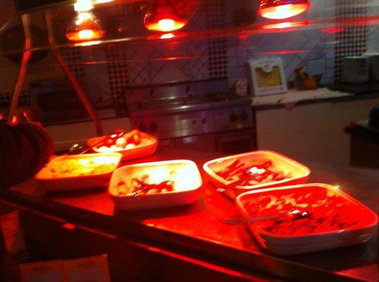 Holiday Inn Milan - Assago: Bacon, mushrooms and eggs