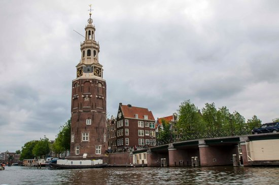 El Amstel: view from the boat