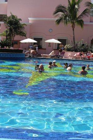 Pueblo Bonito Rose: Aqua Aerobics at noon!