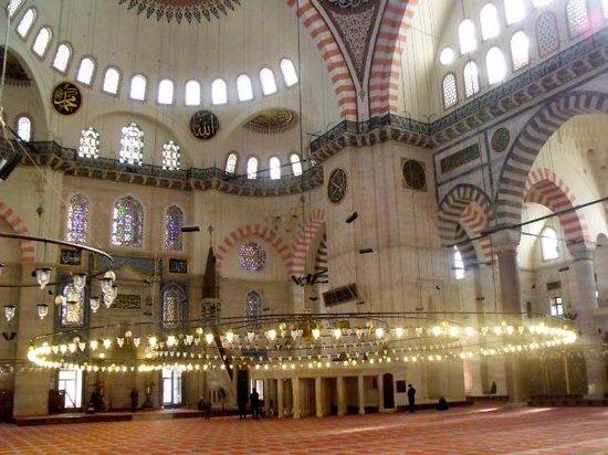 Süleymaniye-Moschee: Suleymaniye mosque, Istanbul