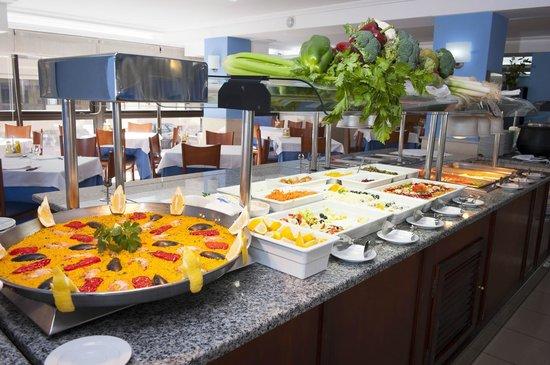 Hotel Playas de Torrevieja: Restaurante Buffet
