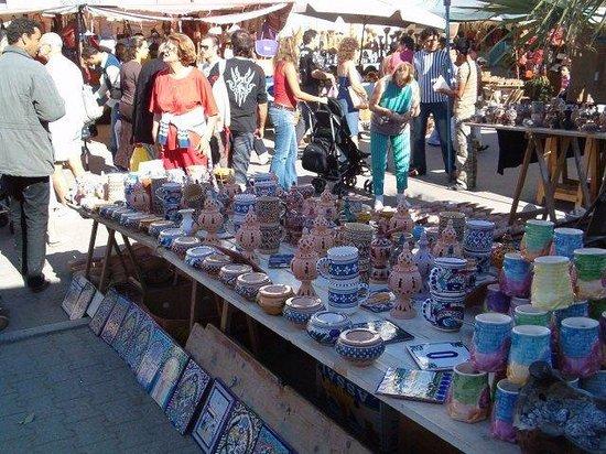 Nabeul Market : mercato