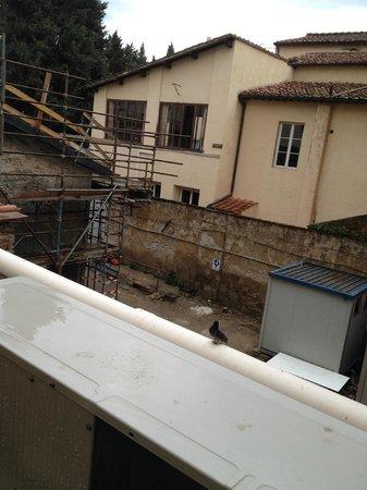 Hotel Anna's: veduta dal terrazzo fumatori