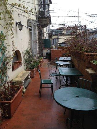Hotel Anna's: terrazzo