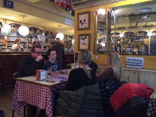 La Republicana: View of restaurant