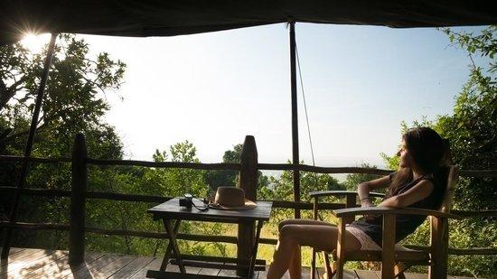 Kilima Camp: vue de la chambre 21