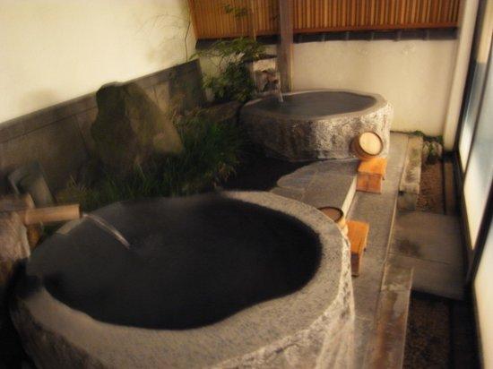 Hitanoyado Yoroduya : 露天風呂