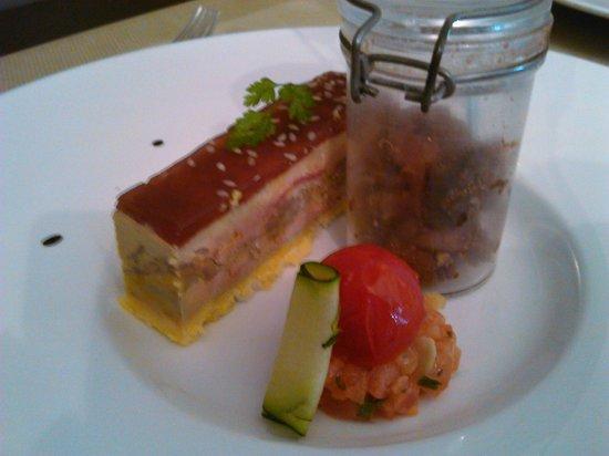O Relais de la Cote : Foie gras façon opéra au confit de figues