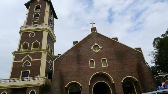 Basilica Minore of Our Lady of Piat: Facade of the basilica