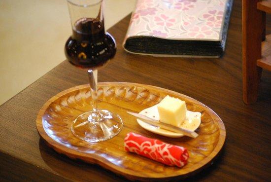 Hashimotoya: ウェルカムワイン