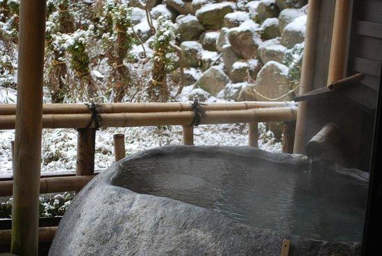 Hashimotoya: 部屋付き露天風呂