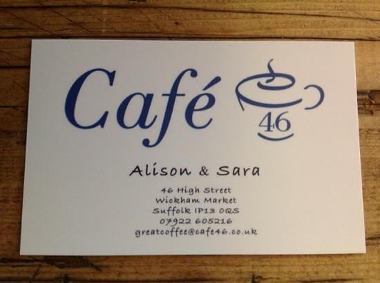 Cafe fortysix: cafe 46