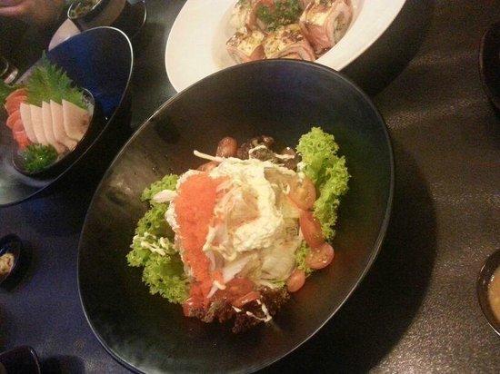 Nijyumaru Japanese Restaurant : Lobster Salad