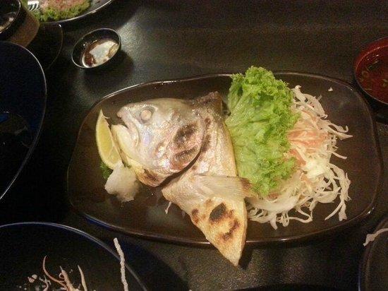 Nijyumaru Japanese Restaurant : Fish Head