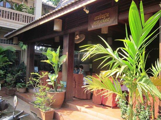 Shining Angkor Boutique Hotel: Restaurant