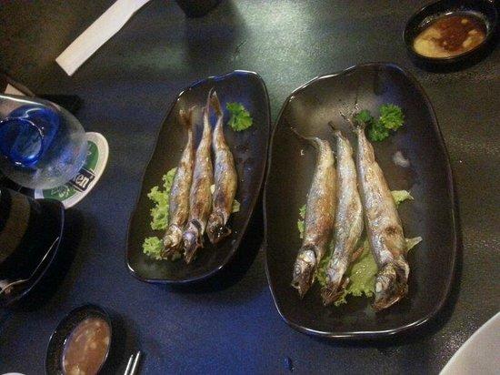 Nijyumaru Japanese Restaurant : Shishamo