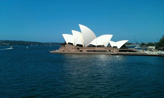 Museum of Contemporary Art: View of Opera House on a stunning Sydney day