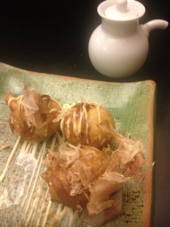 Bonsai Restaurante Japones: Takoyaki