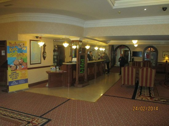 The Ardilaun Hotel : Reception area