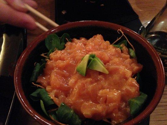 Jorudan Sushi : the Tartare was ok, not the best dish of the night