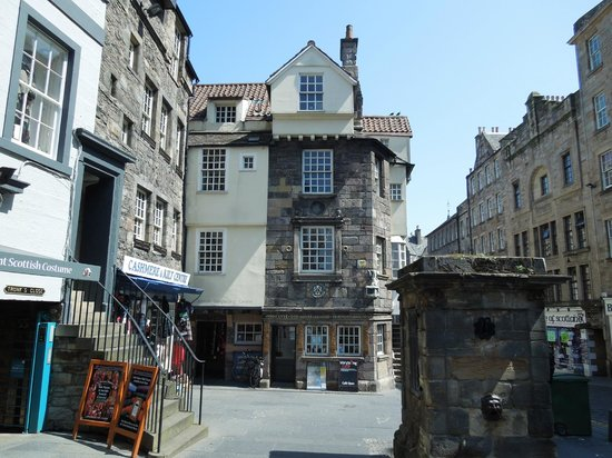 Royal Mile (Königliche Meile): John Knox House - Royal Mile