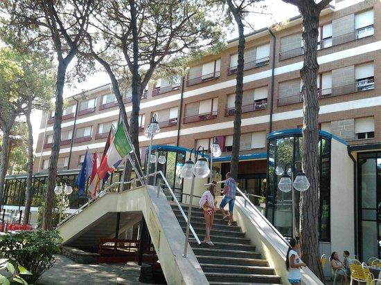 Hotel Meridiana: facciata principale