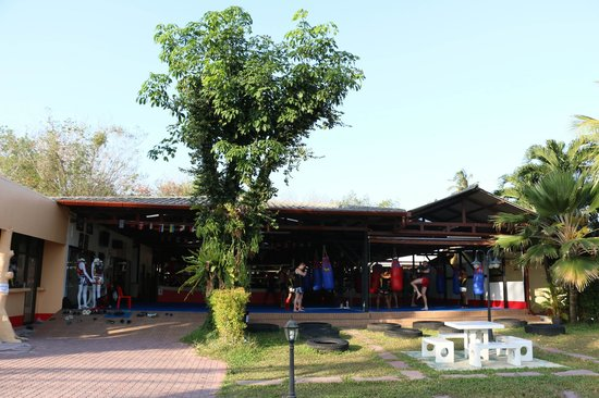 Supa Muay Thai: outside