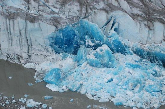 Taku Glacier Lodge & Wings Airways: Aerial view of glaciers