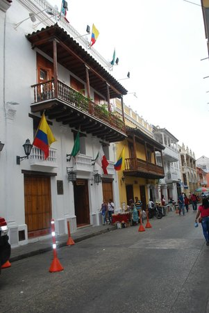 Hotel Don Pedro de Heredia : picture taken outside the hotel
