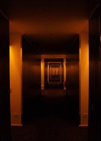 Radisson Blu es. Hotel, Roma : Third floor corridor