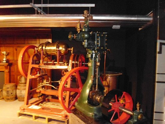 St Austell Brewery: Lovely old equipment