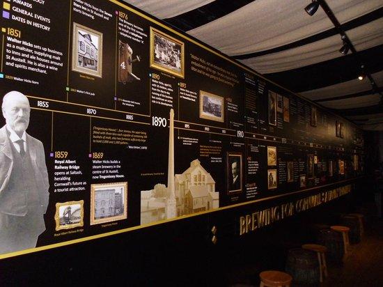 St Austell Brewery: Fascinating menu