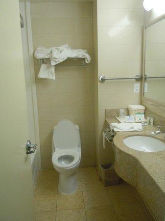 Best Western Plaza Hotel: Bagno