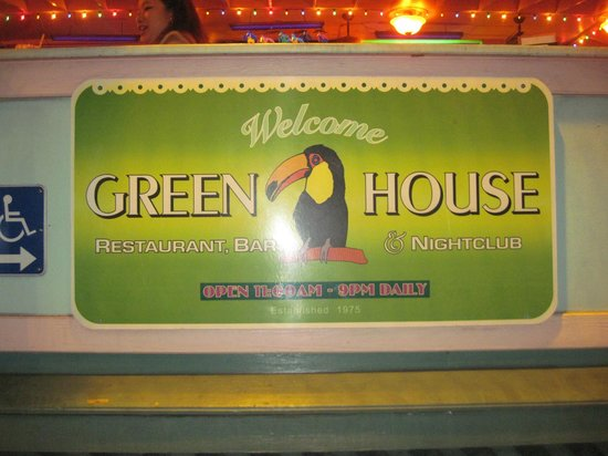 The Green House : Welcome