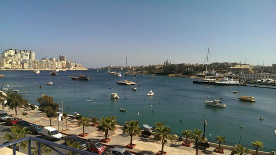 The Waterfront Hotel: Sliema harbour