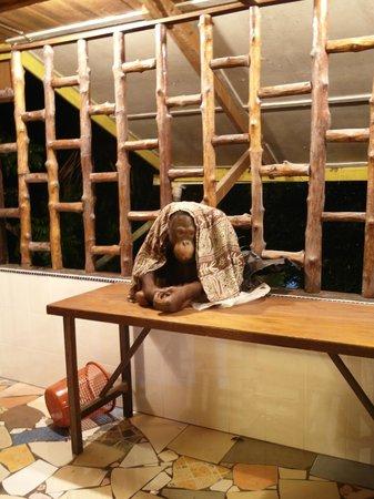 Sepilok Jungle Resort: Restaurant guest