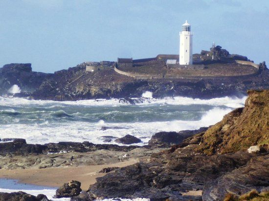 Godrevy Head: The old light house