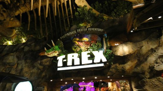 T rex foto de t rex cafe orlando tripadvisor for T rex location