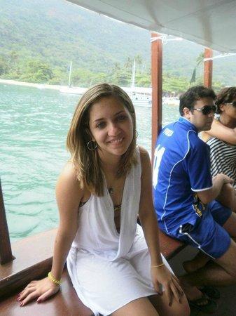 Passeio de barco na Lagoa Azul