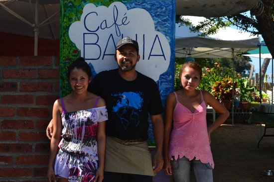 CAFE BAHIA: Staff at Bahia
